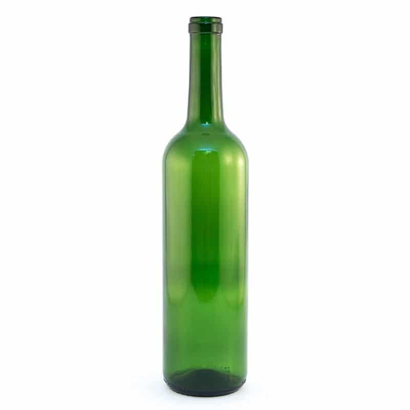 Green Bordeaux Bottles 750Ml (Cs/12)