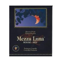Self-adhesive Labels  Mezza Luna Red