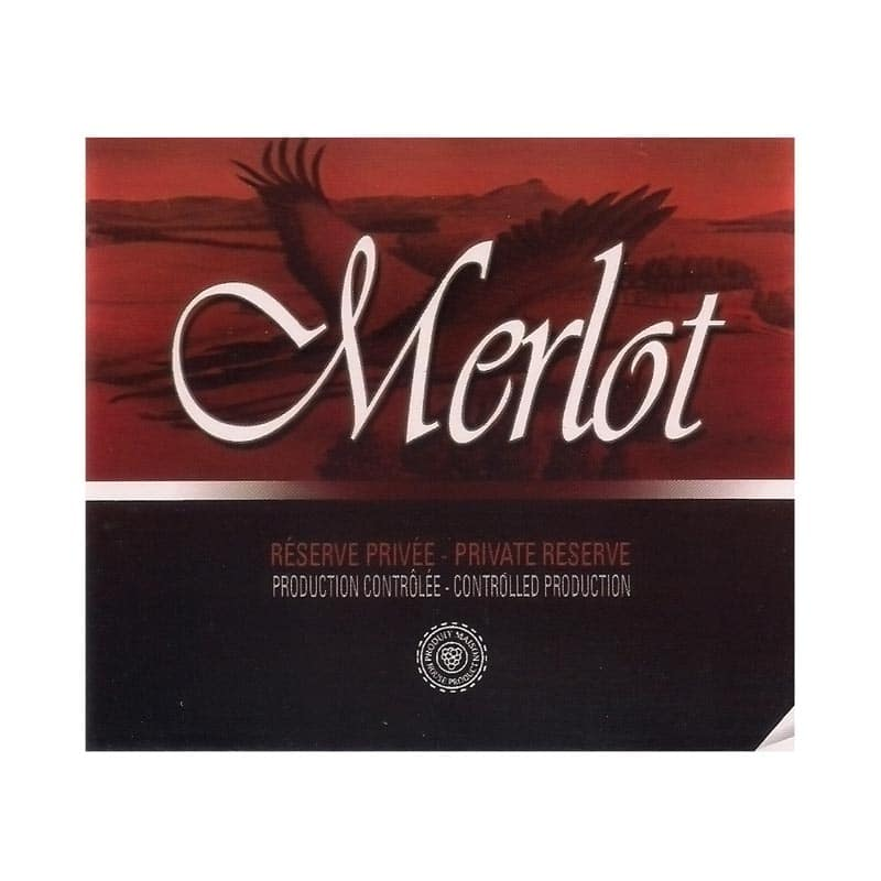 Self-adhesive Labels  Merlot