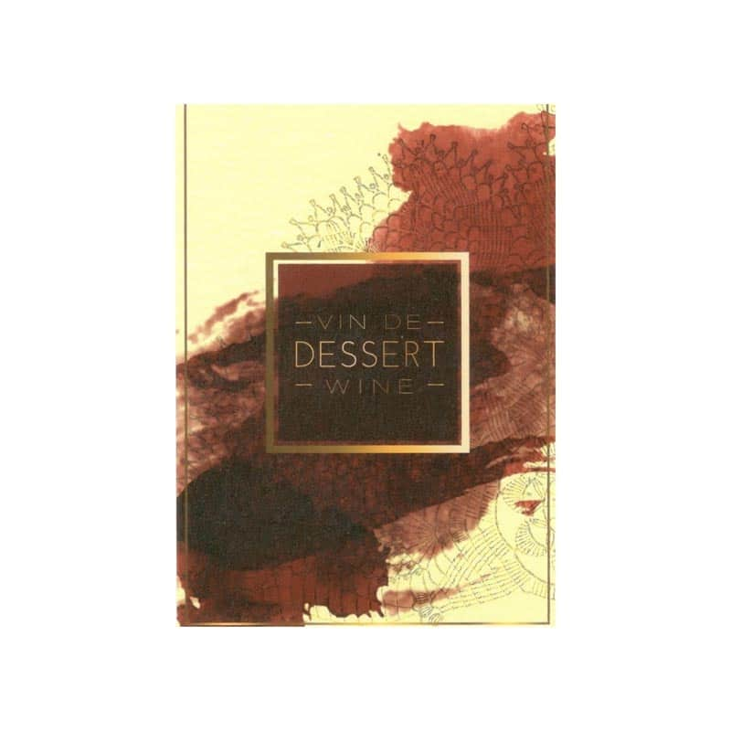 Self-adhesive Labels  Vin de Dessert