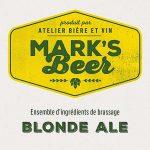 Mark's Beer – Blonde Ale –  1 gallon