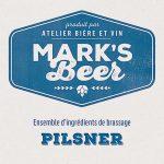 Mark's Beer – Pilsner –  1 gallon