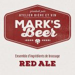 Mark's Beer – Red Ale –  1 gallon