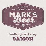 Mark's Beer – Saison –  1 gallon