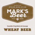 Mark's Beer – Wheat Beer –  1 gallon